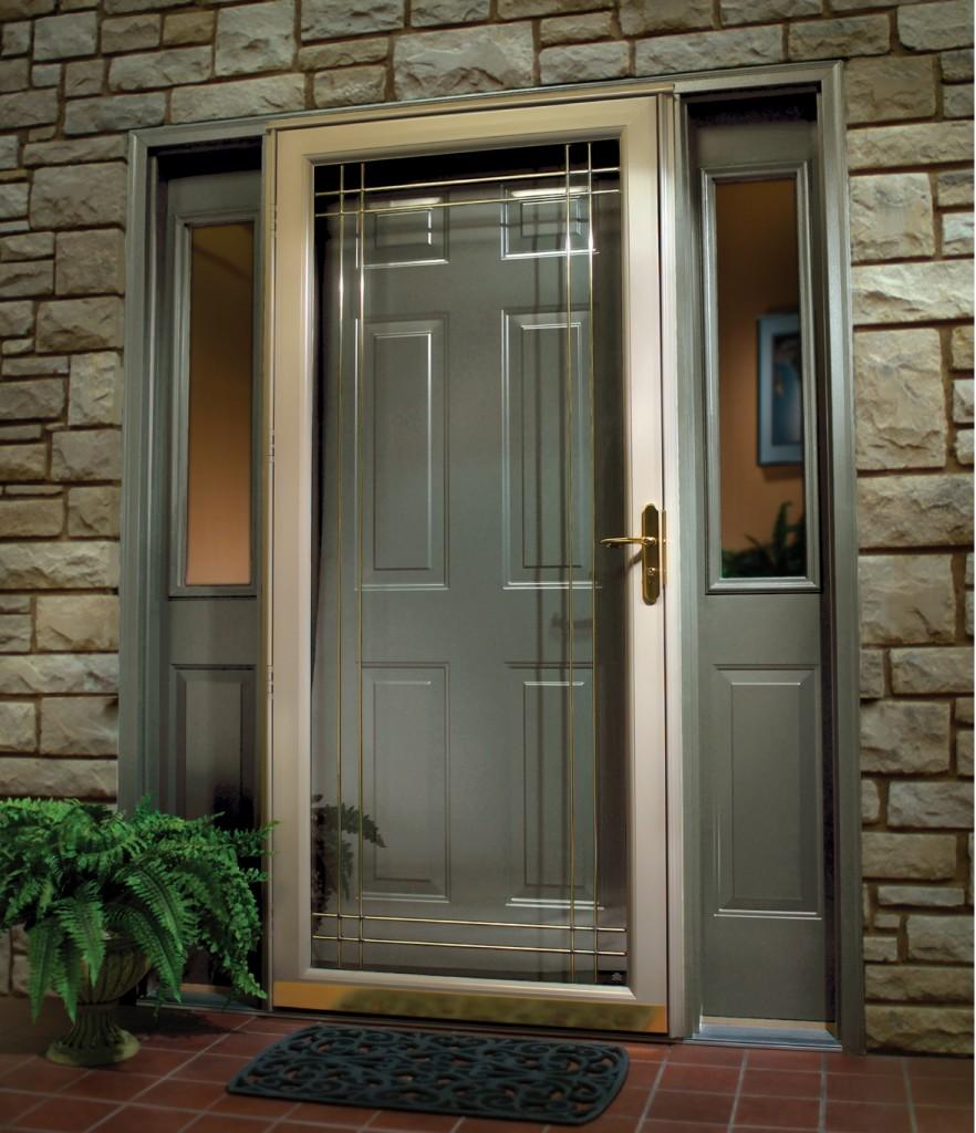 Pictures of front doors with storm doors - Kobyco Storm Doors Loves Park Il Jpg