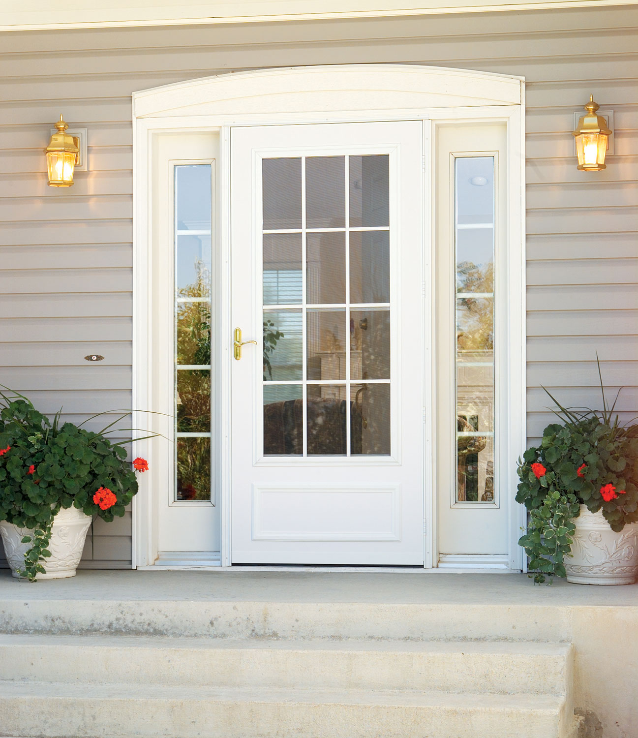 Storm Doors Roscoe IL Kobyco Replacement Windows Interior And Exterior D