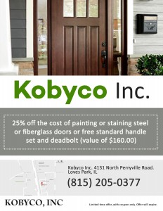 Kobyco Web Only Offers Doors